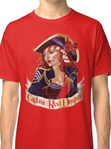Captain Red Dragon Classic T-Shirt