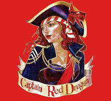 Captain Red Dragon Womens Fitted T-Shirt