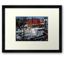 Chagrin Falls - Ohio Framed Print
