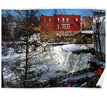 Chagrin Falls - Ohio Poster