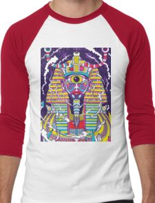 Psychedelic Men's Baseball ¾ T-Shirt
