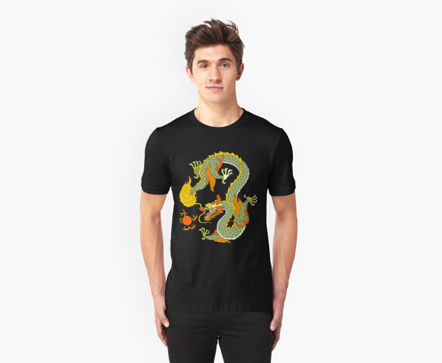 Chinese Dragon by T-ShirtsGifts