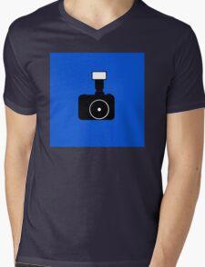 minimal photocam Mens V-Neck T-Shirt