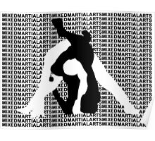 MMA MIXED MARTIAL ARTS TRIANGLE CHOKE 2 Poster
