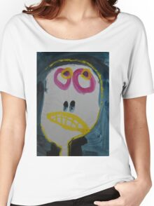 Elisabeth - Graphic Portrait In Acrylic Women's Relaxed Fit T-Shirt
