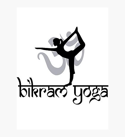Bikram Yoga Photographic Print