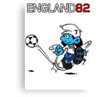 England World Cup 82 Canvas Print