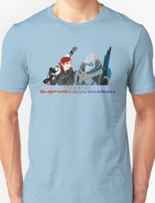 There's no Shepard without Vakarian T-Shirt