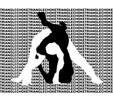 Triangle Choke MMA Mixed Martial Arts  Photographic Print