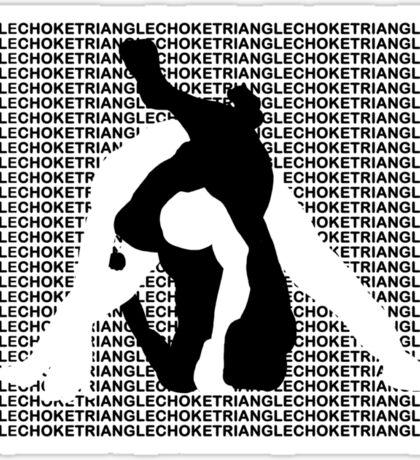Triangle Choke MMA Mixed Martial Arts  Sticker