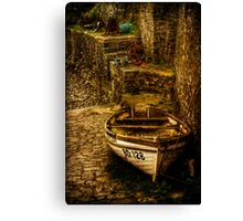 On Dry Land Canvas Print