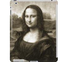 Dithering Mona Lisa iPad Case/Skin