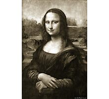 Dithering Mona Lisa Photographic Print
