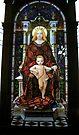 Mary and baby Jesus by vickimec