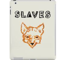 Slaves (US band) Fox iPad Case/Skin