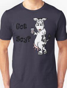 "Funny Vegetarian Vegan ""Got Soy"" Unisex T-Shirt"