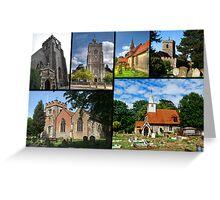 Churches of Hillingdon Greeting Card