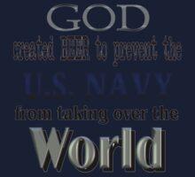 God, Beer & the U. S. Navy Kids Tee