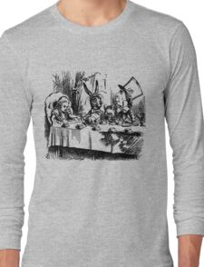 The Mad Hatter's Tea Party Long Sleeve T-Shirt