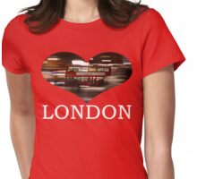 London Bus Womens Fitted T-Shirt