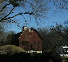 "Drive-by Shooting #6: Big Red Barn by Christine ""Xine"" Segalas"