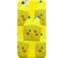Origami Pikachu! iPhone Case/Skin
