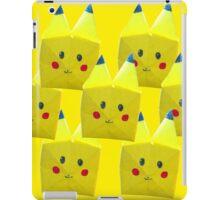 Origami Pikachu! iPad Case/Skin