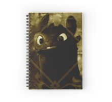 Toothless the night fury Spiral Notebook