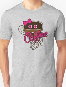 Cute Coffee GirlAddict Unisex T-Shirt