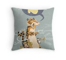 2 (birthday card/invite) Throw Pillow