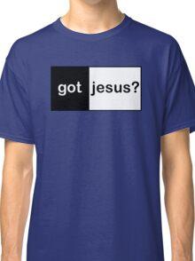 "Christian ""got jesus?""  Classic T-Shirt"