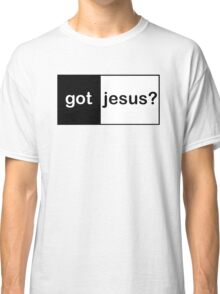 "Christian ""got jesus?""  Classic T-Shirt"