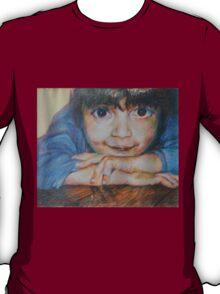 Pensive - A Portrait Of A Boy T-Shirt