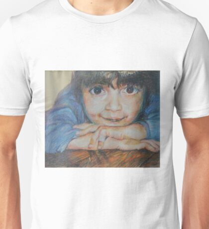 Pensive - A Portrait Of A Boy Unisex T-Shirt