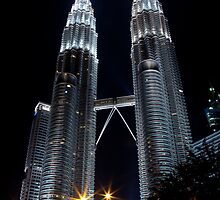 Twin Towers by Gavin Poh