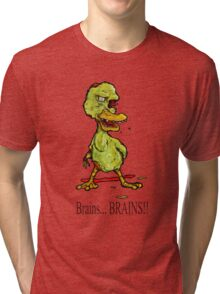 Zombie Duckling Tri-blend T-Shirt