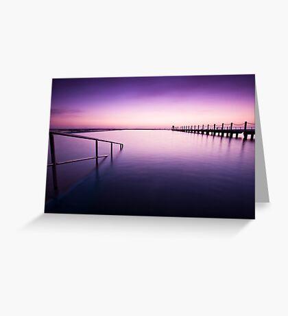 Narrabeen Sunrise Greeting Card