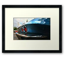 """"""" Back in a Small Town """" Framed Print"""