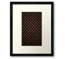 Louis Vuitton the case Framed Print
