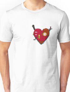 Robot Heart Unisex T-Shirt