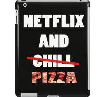 Netflix and Pizza iPad Case/Skin