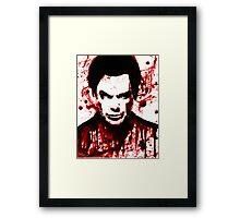 Dexter Morgan Framed Print