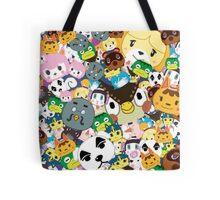 Animal Crossing New Leaf Tsum Tsum Pattern Tote Bag