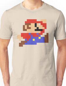 8-Bit Mario Nintendo Jumping Unisex T-Shirt