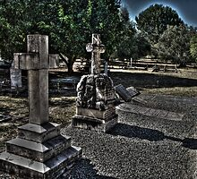 Graveyard at St John's by BigAndRed