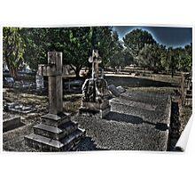 Graveyard at St John's Poster