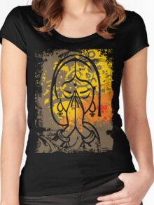 Namaste Women's Fitted Scoop T-Shirt