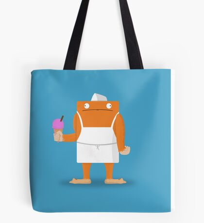 Ice Cream Vendor - Everyday Monsters Tote Bag