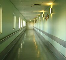 Some journeys we must take alone -  Canberra Hospital by rebekkahsparrow