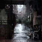 """Beijing Alley by Christine """"Xine"""" Segalas"""